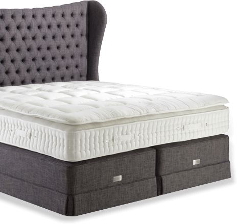 choose a deep or shallow divan base a designer headboard and preferred upholstery fabric in your favourite colour and texture add convenient storage and